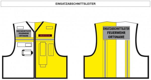Kennzeichnungsweste Einsatz-Abschnittsleiter