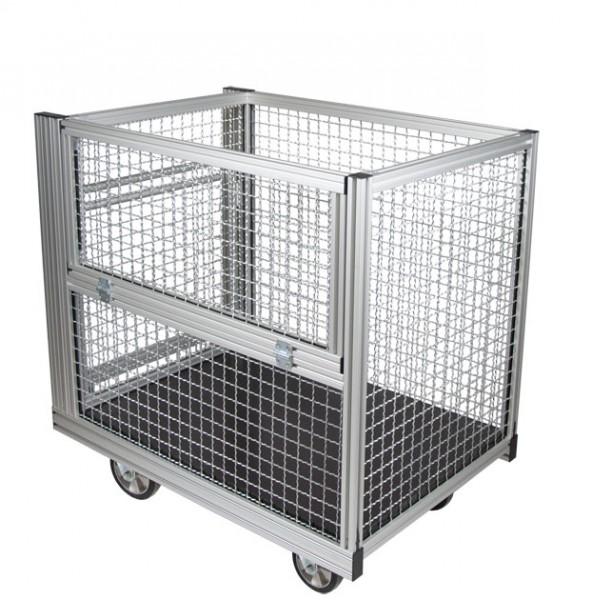 Rollcontainer Gitterbox Stahl