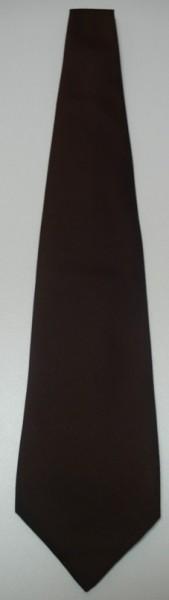 Krawatte braun gebunden