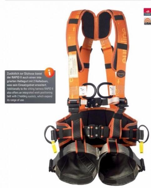 Auffang-Rettungsgurt Rapid II