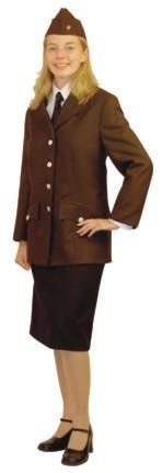 Uniformbluse braun Damen ÖBFV