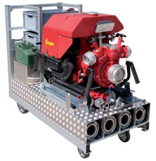 Rollcontainer Pumpe + Zubehör 2