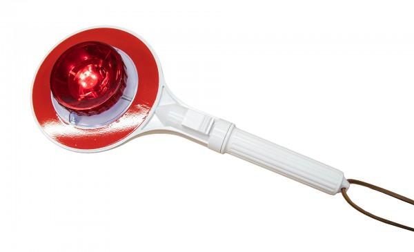 Winkerkelle beleuchtet rot/grün LED
