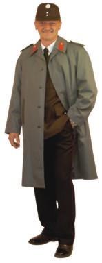 Uniformmantel grau ÖBFV