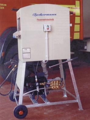 Schlauchwaschmaschine bürstenlos