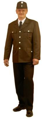 Uniformbluse braun ÖBFV