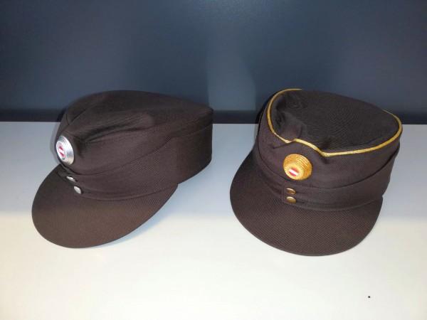 Uniformkappe Dienstmütze braun ab ABI