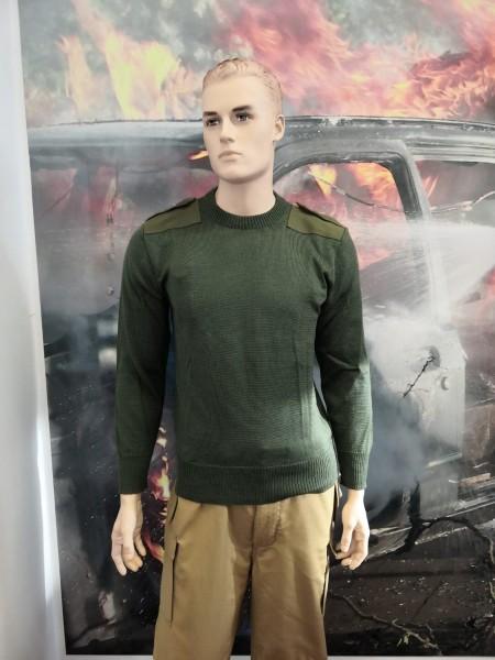 Feuerwehr Pullover grün / oliv