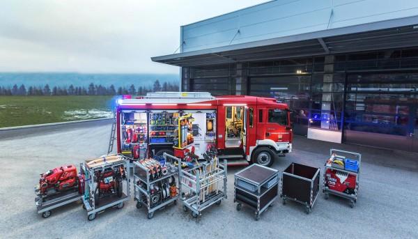 Rollcontainer Jerg Feuerwehr und Umwelttechnik