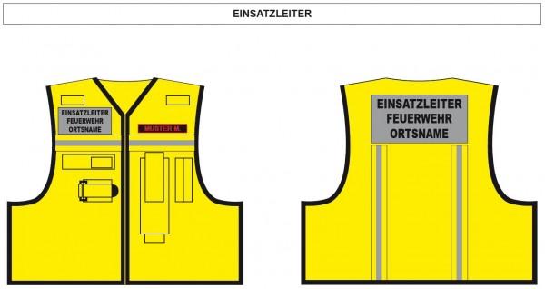 Kennzeichnungsweste Einsatzleiter