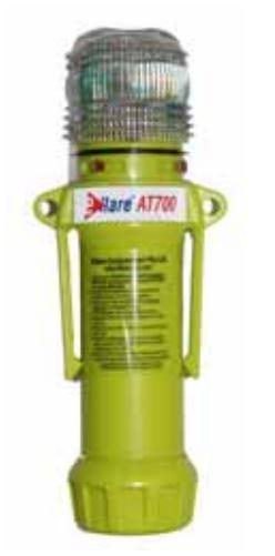 Atemschutz Kennleuchte Grün