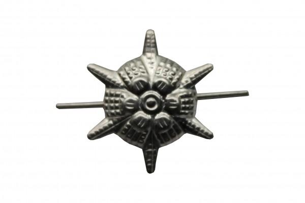 Sternrosette Weissmetall